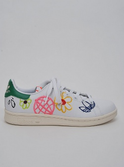 Adidas Stan smith w love earth aop primegreen Ftwwht green cwhite