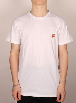 Dedicated X Nintendo Super mario tee White