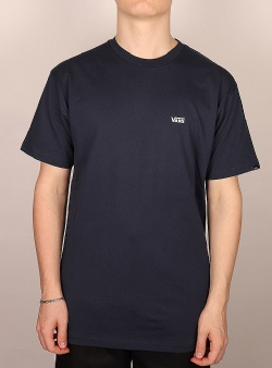 Vans Left chest logo tee Dress blue