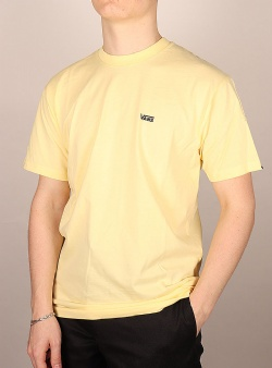 Vans Left chest logo tee Mellow yellow