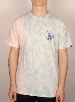 Vans Tell a friend tee Fusion coral tie dye
