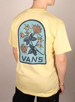 Vans Low point floral tee Mellow yellow