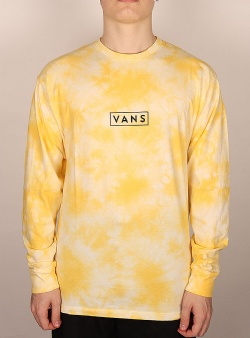 Vans Easy box ls tee Mellow yellow tie dye